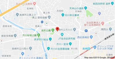 【地図】ビアンフェ真上 (株)Roots
