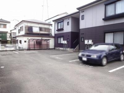 【駐車場】ファミール・ビレジ A棟