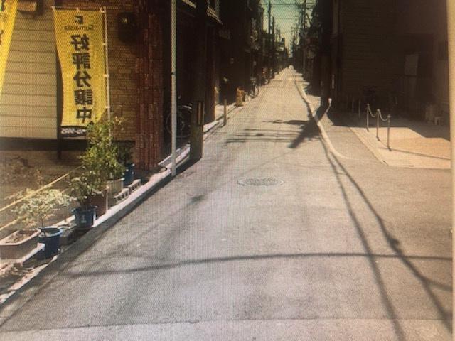 【前面道路含む現地写真】西成区松2丁目 新築戸建