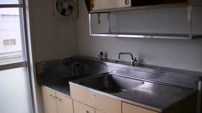 【キッチン】ビレッジハウス万石浦1号棟