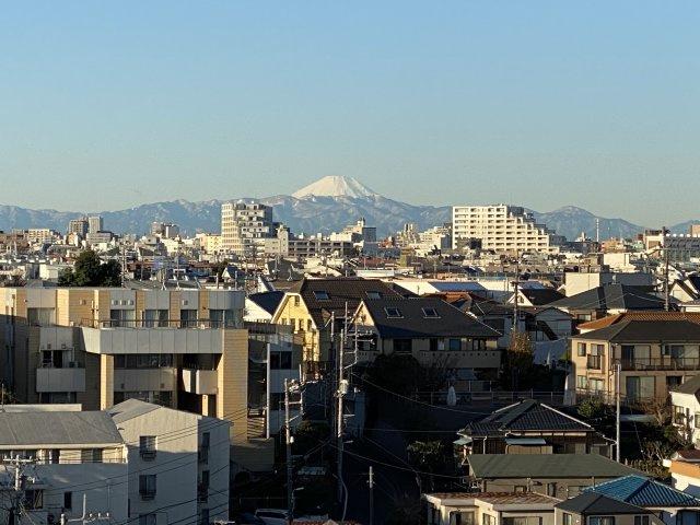 ◇View◇天気の良い日は富士山が一望できます♪【現地(2021年10月)撮影】