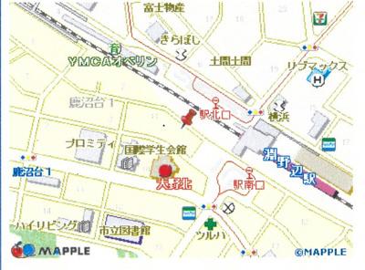 【地図】横浜線 淵野辺駅 クリオ淵野辺参番館 7F