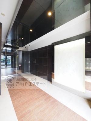 【エントランス】GENOVIA亀戸 green wall