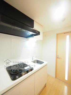 【キッチン】GENOVIA亀戸 green wall