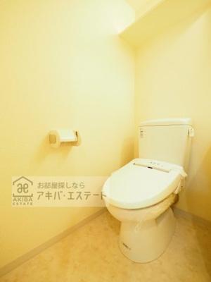 【トイレ】GENOVIA亀戸 green wall