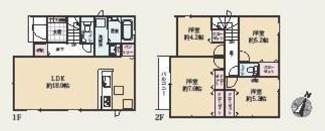平塚市中里 新築戸建 全2棟1号棟