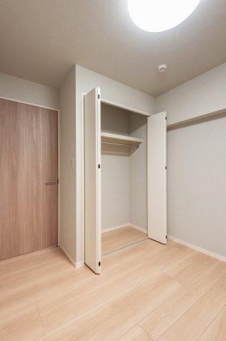 東急ドエルアルス石川台:約4.3帖の洋室にはクローゼットが付いております!