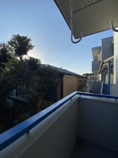 南向きバルコニーからの眺望