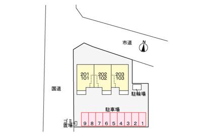 【地図】カーサドルミーレ