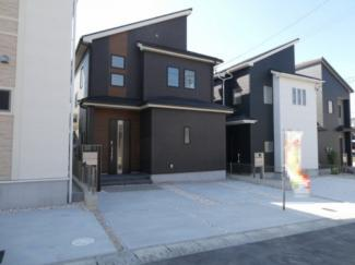 碧南市平七町2丁目新築分譲住宅5号棟写真です。2021年10月撮影
