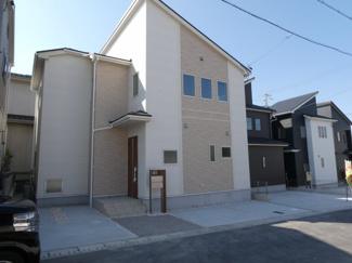 碧南市平七町2丁目新築分譲住宅4号棟写真です。2021年10月撮影