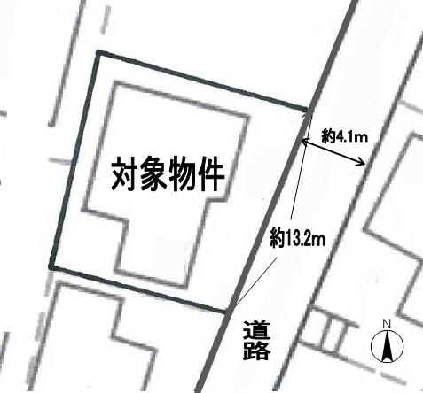 【土地図】小文字二丁目5番15号