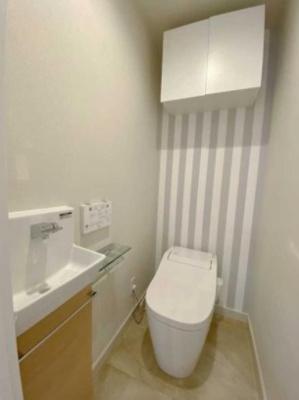 ライオンズマンション初台のトイレです。