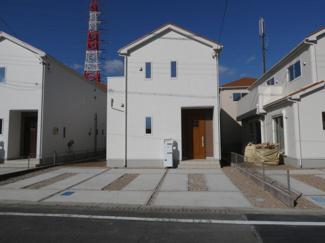 碧南市権現町21-1期新築分譲住宅3号棟写真です。2021年9月撮影