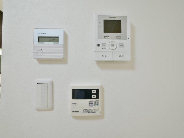 コントロールパネル 床暖房 TVモニター付きインターホン 給湯パネル