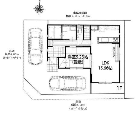 区画図です:吉川新築ナビで検索♪