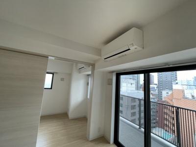 エアコンは2機設置あり