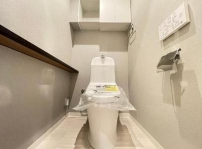 善福寺コーポのトイレです。