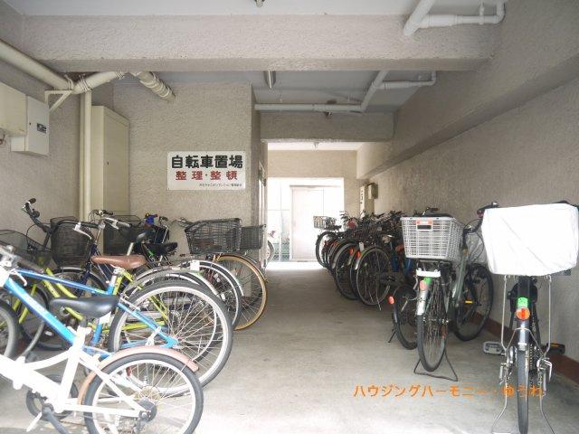 【駐輪場】キャニオンマンション第6高島平