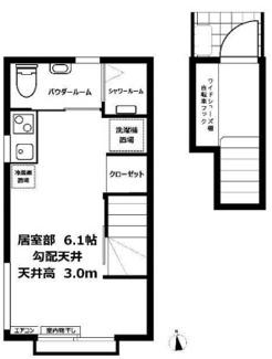 【間取り】《2021年築!高稼働》川口市朝日4丁目一棟アパート