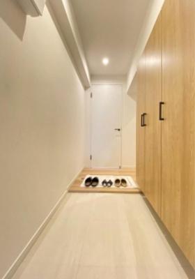 桜台武蔵野マンションの玄関です。