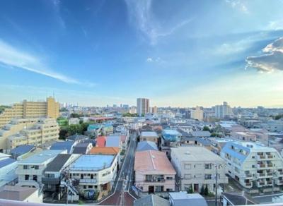 桜台武蔵野マンションからの眺望です。
