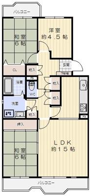 【内装】北落合第2住宅356号棟