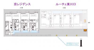 【区画図】京レジデンス