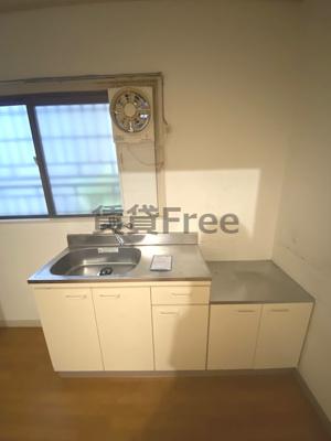 【キッチン】サンコー第三住宅 仲介手数料無料