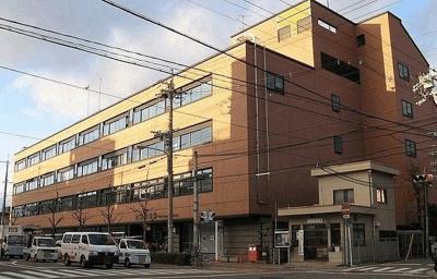 京都左京郵便局まで1820m