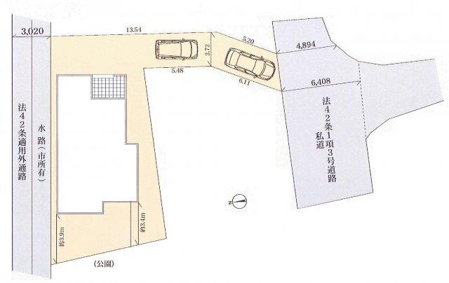 【区画図】あきる野市二宮 新築戸建全1棟