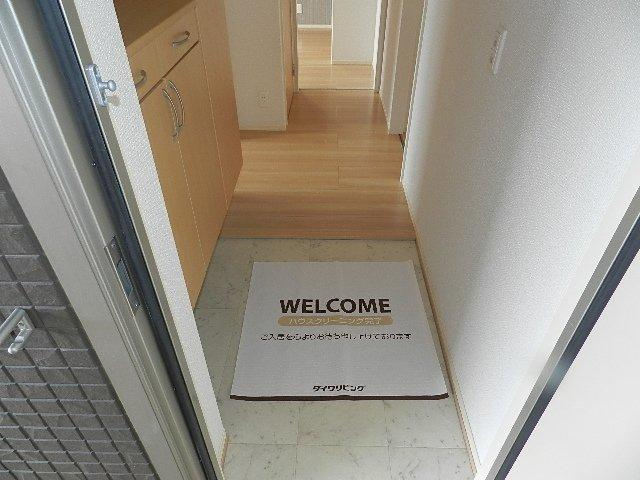 【玄関】サウスコートS A・B棟 B棟