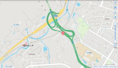【地図】サンロイヤル北六甲