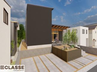 ・参考プラン価格:1850万(別途外構費270万)     ・建物価格は参考価格になります。 (弊社標準建物28坪で計算した価格です)       ・参考プラン延床面積:111.78㎡