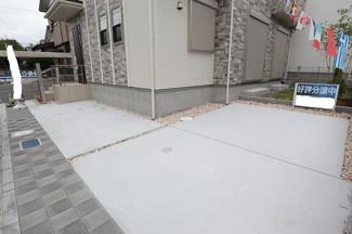 千葉市若葉区千城台東 新築一戸建 千城台駅 2台駐車可能です!