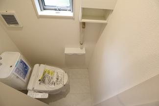 千葉市若葉区千城台東 新築一戸建 千城台駅 1階のトイレです!