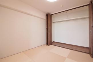和室4.5帖のクローゼットです♪たくさんのお洋服・小物が収納できます!室内を有効に使用していただけます(^^)