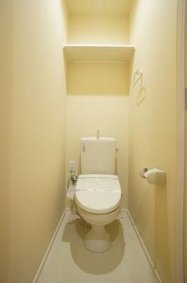 暖房洗浄便座付きトイレです