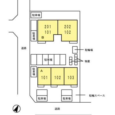 【区画図】ルーチェソラーレB