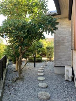 お庭の付いた物件です:吉川新築ナビで検索♪