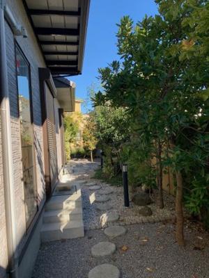 お庭です:吉川新築ナビで検索♪