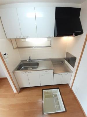 床下収納付きのキッチン☆