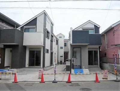 【外観】練馬区谷原2丁目 新築戸建 C号棟 4680万円