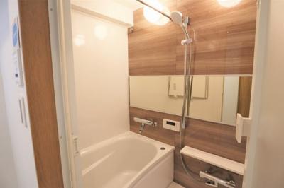 ユニットバス新調済です。浴室乾燥機付き♪