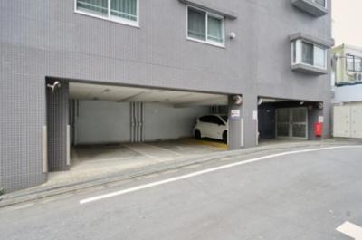 ダイナシティ方南町の駐車場です。