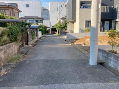 【前面道路含む現地写真】柏市高田