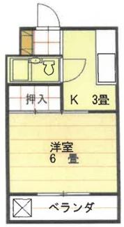 【間取り】愛媛県松山市枝松1丁目一棟マンション