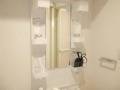 室内洗濯置き場です♪