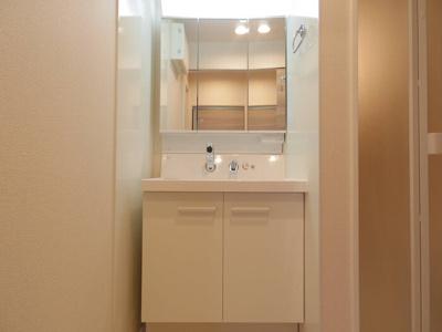 三面鏡付洗面化粧台
