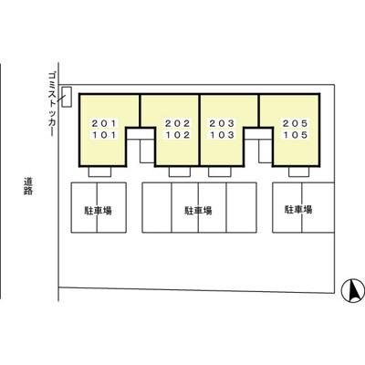 【区画図】アクシス真鍋